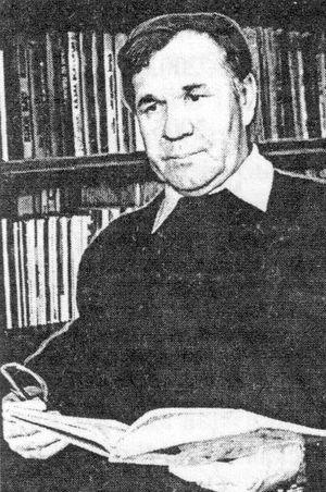 Удмуртский поэт, публицист, журналист, редактор, переводчик Вениамин Никанорович Ившин.