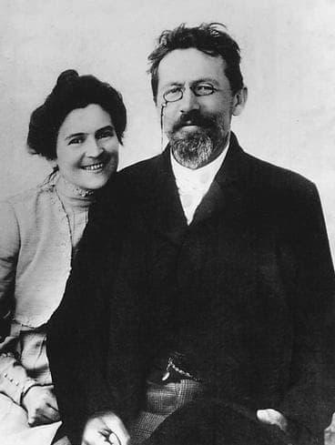 Книппер-Чехова О.Л. и Чехов А.П. 1901г.