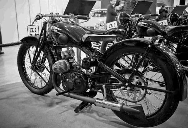 Мотоцикл ИЖ - 7