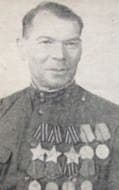 Ушаков Василий Дмитриевич - полный кавалер ордена Славы (три ордена Славы), житель Удмуртии.