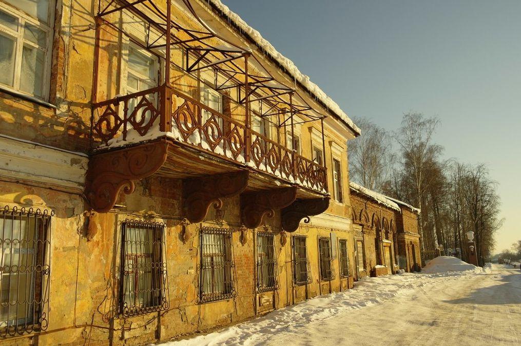 Ижевск. Генеральский дом. Фото 2015 года.
