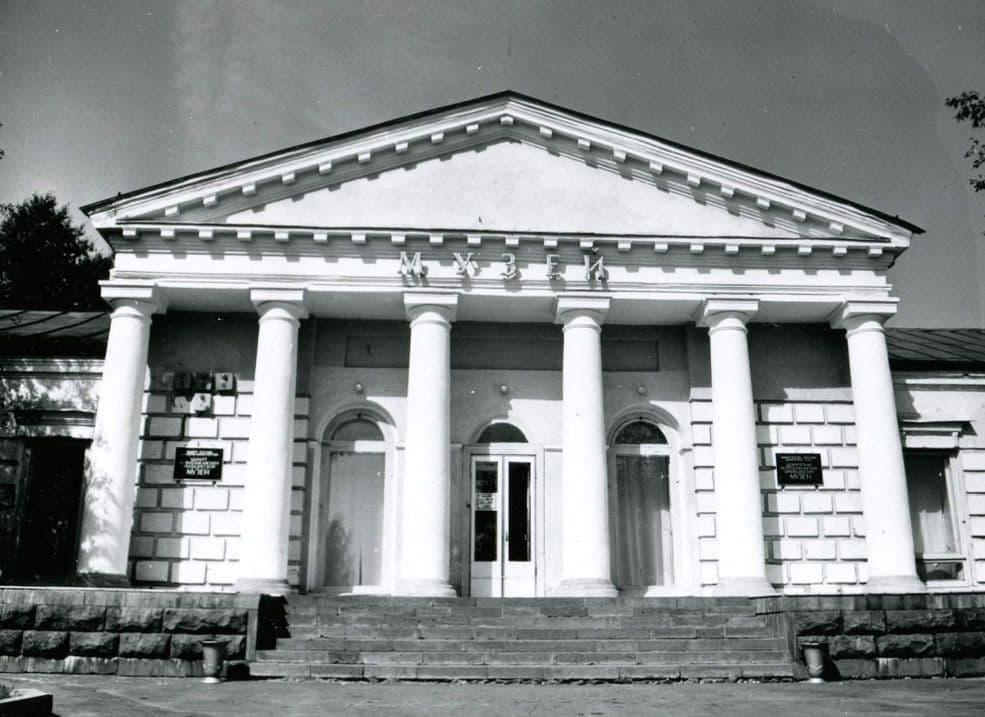 Здания Краеведческого музея в конце 1980-х годов в здании Арсенал. Ижевск.