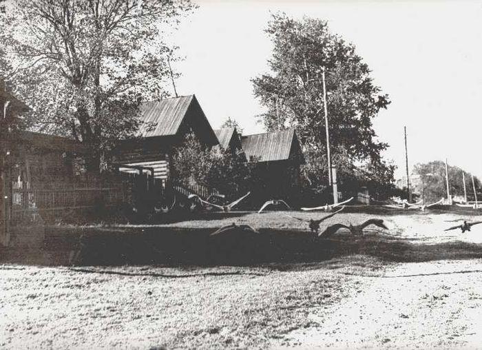 Деревня Мувыр. Игринский район. Фото: 1980 г.