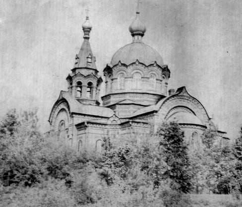 Храм Михаила Архангела в Сям-Можге Увинского р-а. 1901-1909. Архитектор И.А.Чарушин.