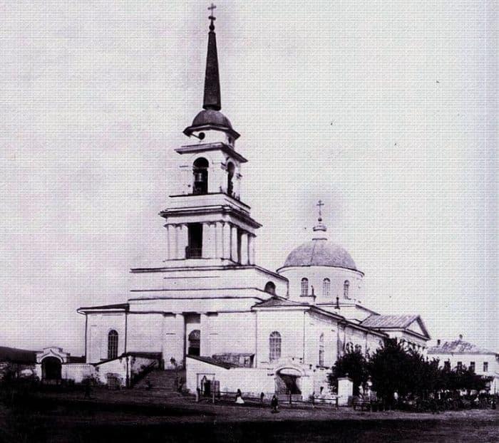 Благовещенский храм. Фотографии старого Воткинска.