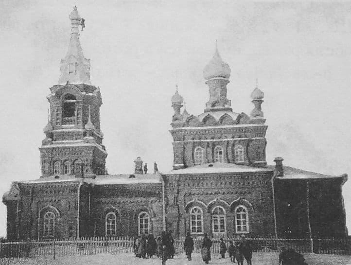 Ягул. Храм в честь Апостола Петра и Павла. Приход основан в 1916 г. Русский стиль.