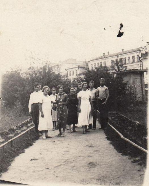 Городской сад. Сарапул. 1940 г.