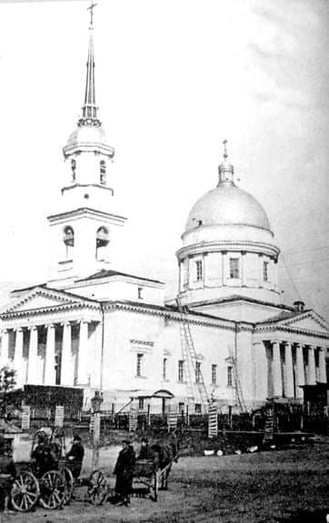 Александро-Невский собор. Открытка 1905 года. Ижевск.
