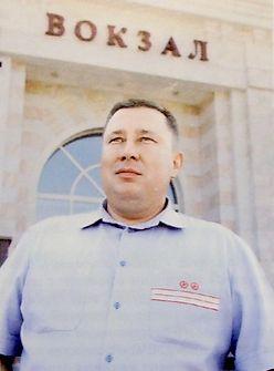 Андрей Васильевич Спиридонов, начальник Ижевского вокзала.