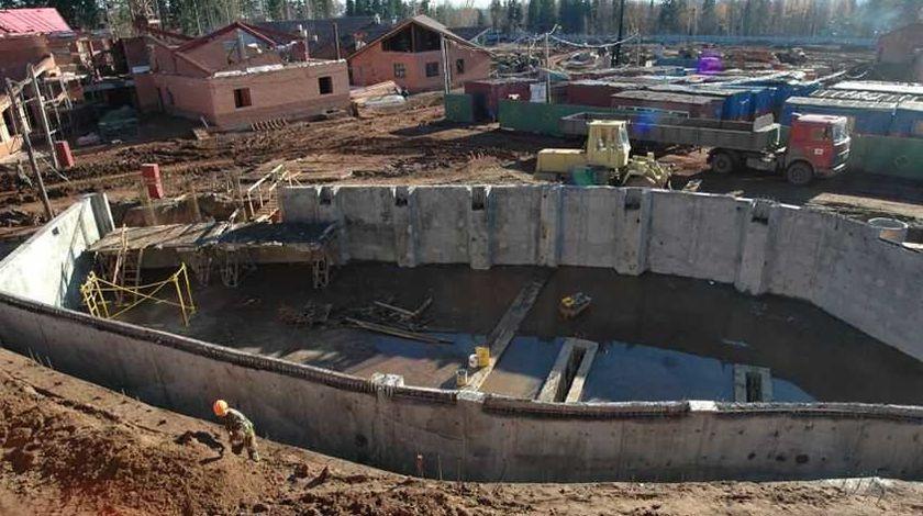 Строительство зоопарка. Ижевск.