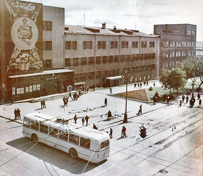Почтамт на К.Маркса, 70-е годы. Ижевск.