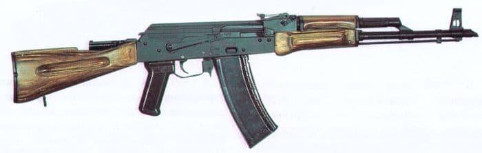 5,6-мм автомат Калашникова. Опытный образец 1970г.