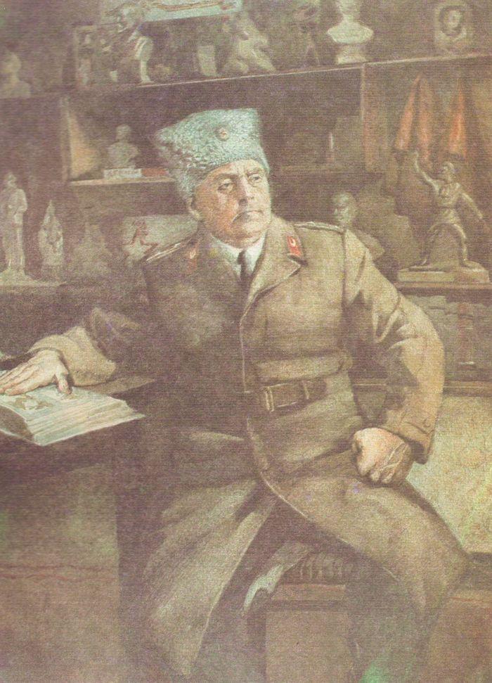Костылева В. Ветеран войны Герой Советского Союза полковник Томиловский Г.С.