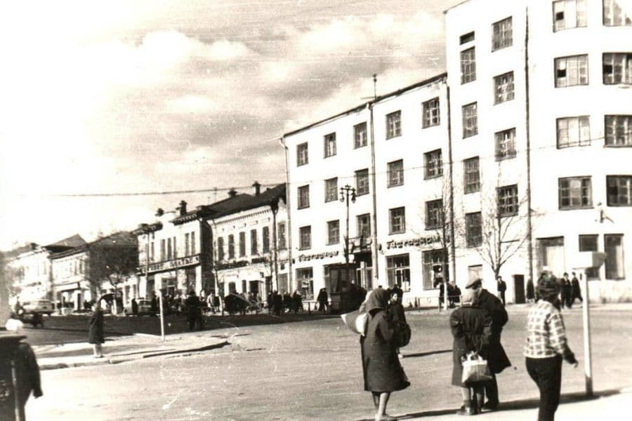 Улица М.Горького. Ижевск.