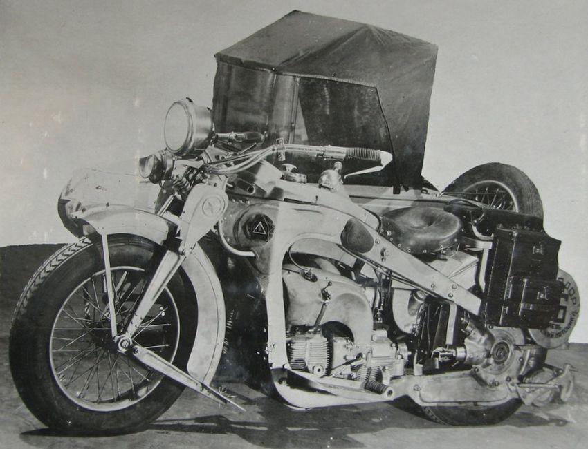 Мотоцикл ИЖ-2.