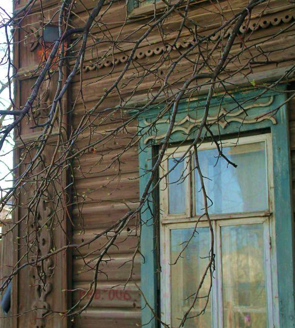 Старый наличник на ул. Красная. Ижевск.