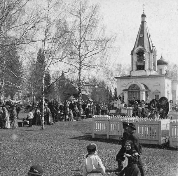 Свято-Троицкая кладбищенская церковью Ижевск.