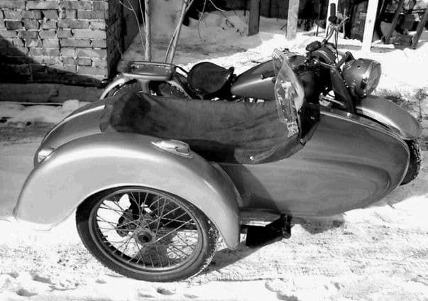 Немецкий мотоцикл DKW NZ-360