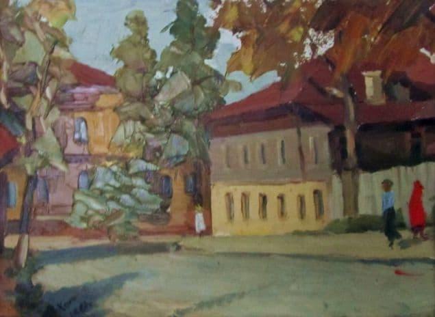 Хомяков В.И.. Улица Красная, 1967 г. Ижевск