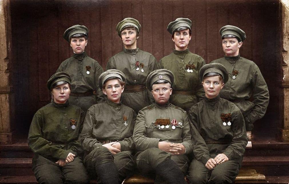 Женский батальон смерти.