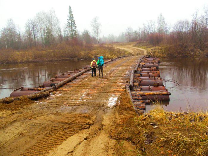 Мост через реку Кильмезь. Удмуртия 2018 г. Кильмезкий р.