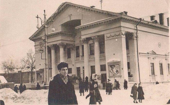 Кинотеатр - Дружба построили в Ижевске в 1955 году.