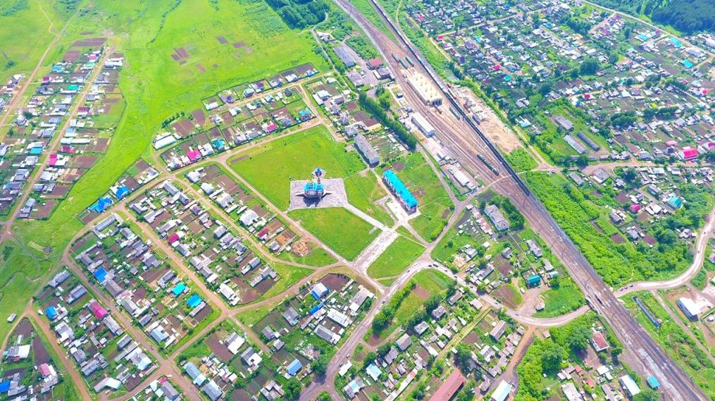 Поселок Балезино. 2017 год. Фото: Алексей Старков.