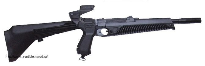Газобаллонный пистолет  МР-651 (винтовка)