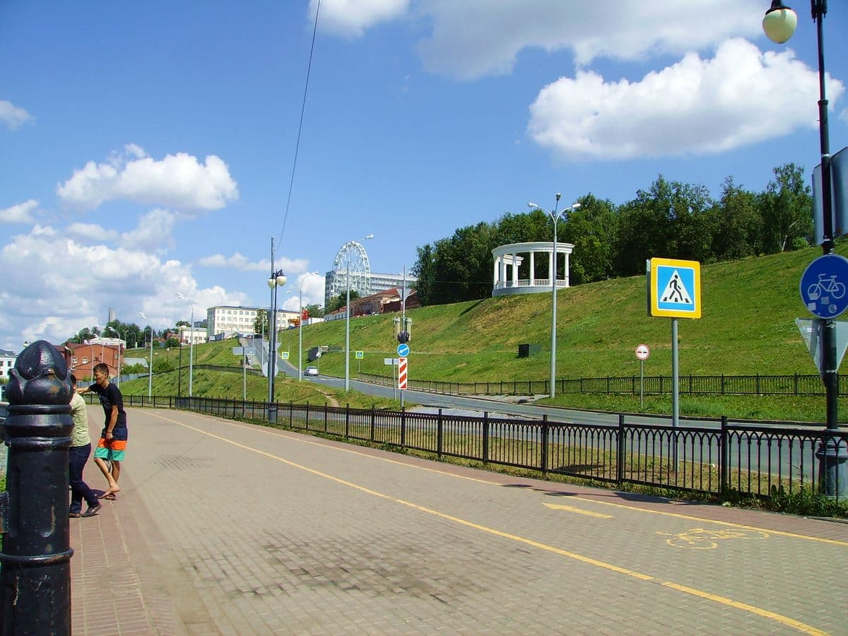 Улица Милиционная, Ижевск.