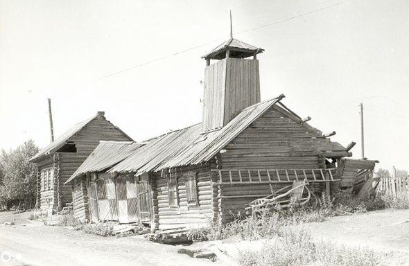 Здание пожарной каланчи. Село Бектыш. Балезинский район.