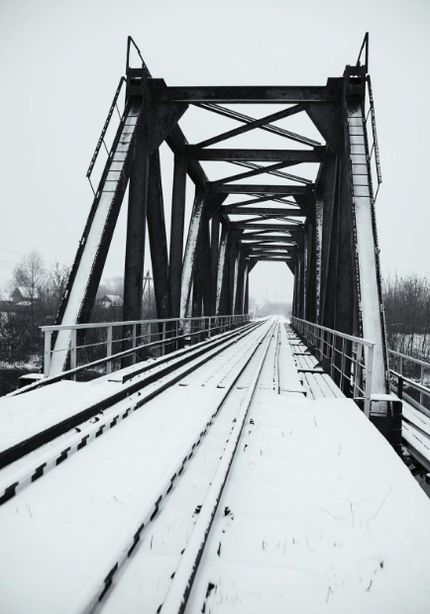 «Железнодорожный мост через реку Иж». 2018 г.