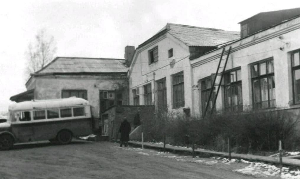 Верхне-Узенький переулок, станция скорой помощи, 1954 год. Ижевск.