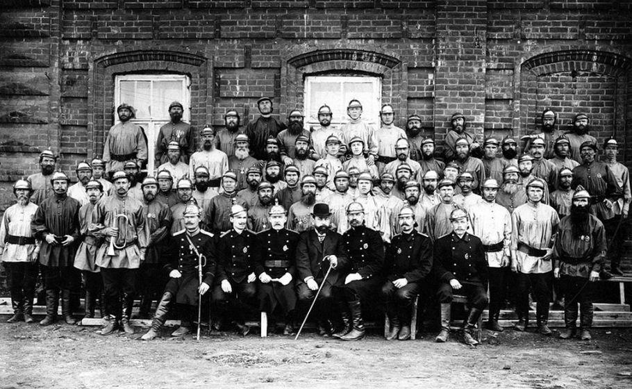 Пожарники Сарапула.