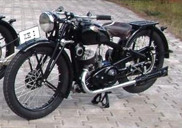 Мотоцикл иж 9