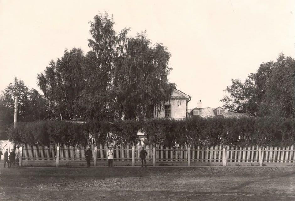 Фотография усадьбы Чайковских. Воткинск.