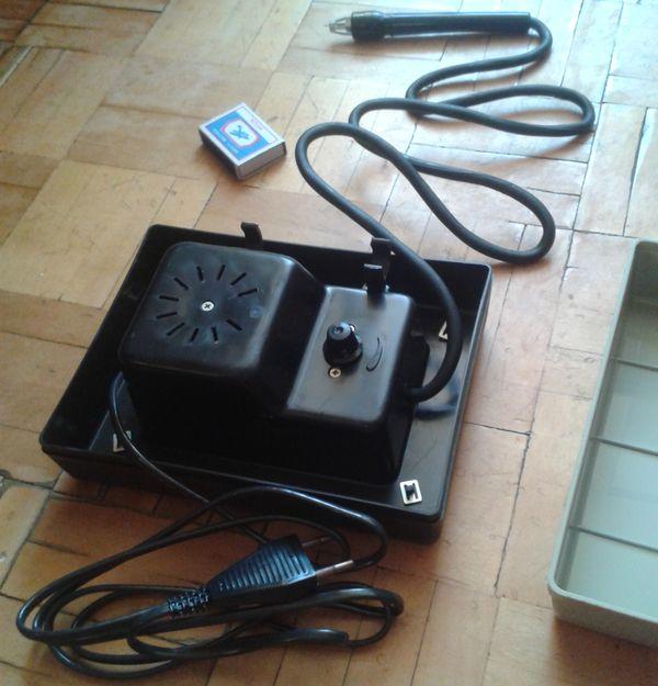 Прибор для выжигания по дереву - Солнышко. Ижевский мотозавод.   Произведено в Удмуртии.