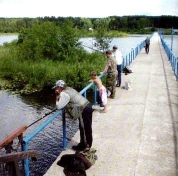 Рыбаки на Воложке. Ижевск.