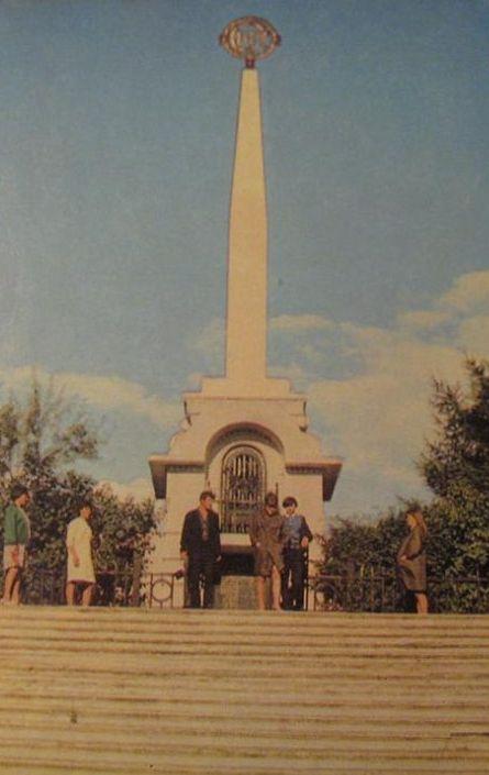 Мемориал героям революции и Гражданской войны. Фото А. Мусин.