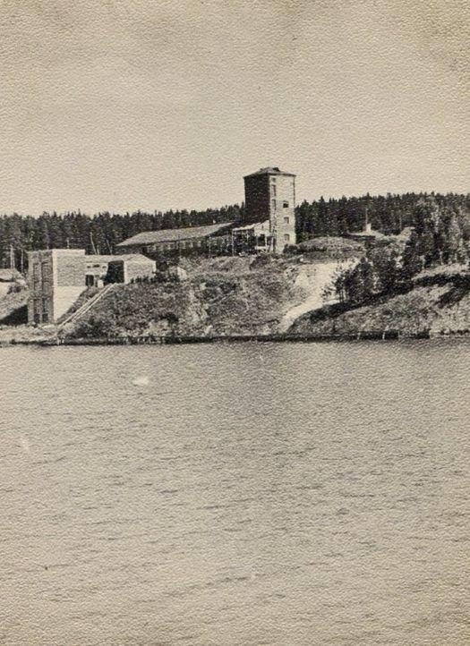 Ижевская водокачка. 1950-60-е. Ижевск.